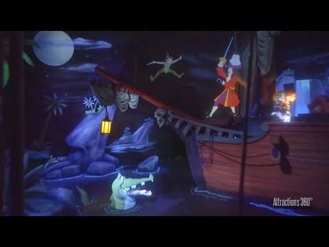 [HD] FULL Shanghai Disneyland Peter Pan Ride 2016