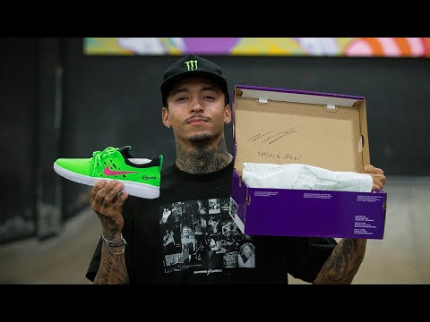 Nyjah Huston NEW Nike SB Limited Signed Pairs