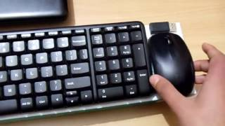 Review of the logitech mk220 wireless keyboard and mouse combo!