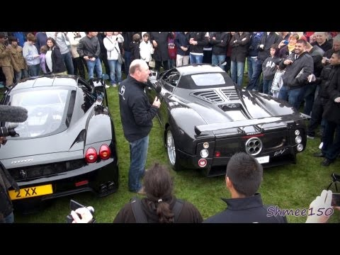 REV WAR! Ferrari Enzo vs Zonda F