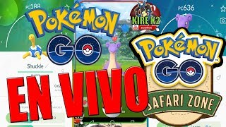 EN VIVO SAFARI ZONE POKEMON GO COMO ES ESTE EVENTO?
