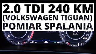 Volkswagen Tiguan 2.0 TDI 240 KM (AT) - pomiar zużycia paliwa