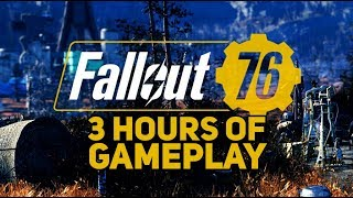 3 Hours of Fallout 76 (Raw Footage on Xbox One X)