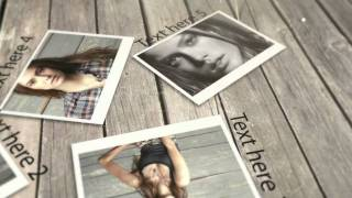 After Effects Project Files - Falling Photos - VideoHive