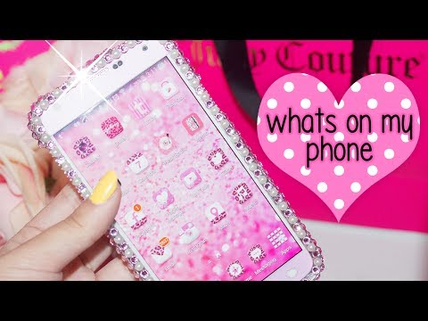 What's On My Android/Phone 2014  ft. Galaxy S5 | Juicydaily