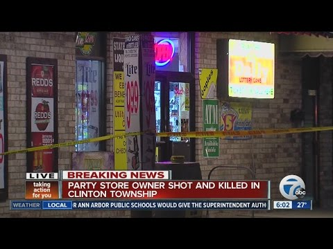 CLINTOWN TOWNSHIP PARTY STORE OWNER KILLED