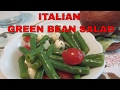 Green Bean Italian Salad