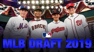 Catch every pick of the 2019 MLB Draft