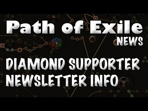 Path of Exile News: Diamond Supporter Newsletter Insights (Patches & Uniques)