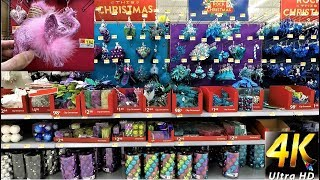CHRISTMAS AT WALMART - ENTIRE ORNAMENT SECTION - Christmas Ornaments Christmas Shopping Decorations