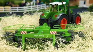 JAMARA toys TRACTOR with rotary rakes | Action video for KIDS