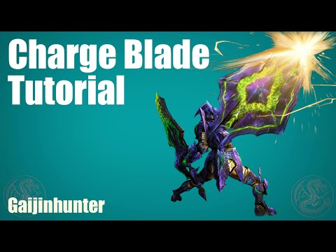 MH4G/MH4U: Charge Blade Tutorial
