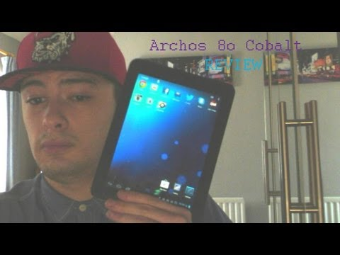 Review of Archos 80 Cobalt Android tablet