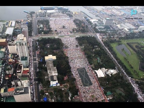 News@1: Huling misa ni Pope Francis sa Luneta, pang-world record || Jan. 19, 2015