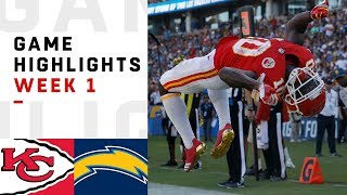 Chiefs vs. Chargers Week 1 Highlights | NFL 2018