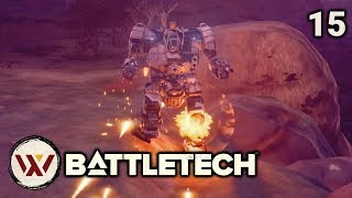 Literal 3 Skull - #15 BATTLETECH Let's Play Campaign Gameplay