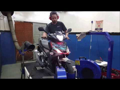 Honda RS150R aRacer RC M4 ECU Dyno Tuning - Motodynamics Technology Malaysia