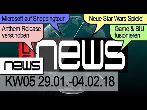 Microsoft will EA kaufen? Neue Star Wars Spiele bekannt! ★ Games News ★ [HD] ★ German | Deutsch