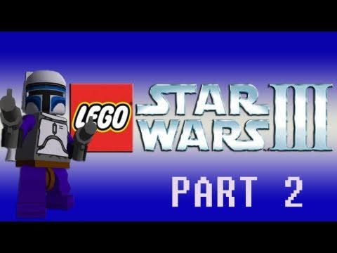 Gaming with the Kwings - Lego Star Wars 3 (Wii) co op part 2