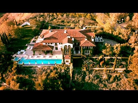Hangtime Aerial - The Heidi Klum Estate video