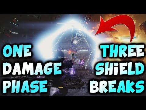 Argos - 3 Shield Breaks in 1 Damage Phase {Raid Lair Boss, Destiny 2}
