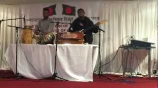 Sayeed  at Bangladesh Multi Purpose Centre singing Nil Doria, Aston, Birmingham, dated 16-16-12.mp4