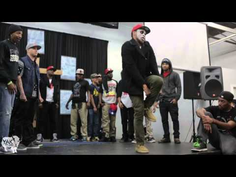 THE REALM krump battle LA 2013 Tight Eyez & STREET KINGDOM | YAK FILMS  get buck!