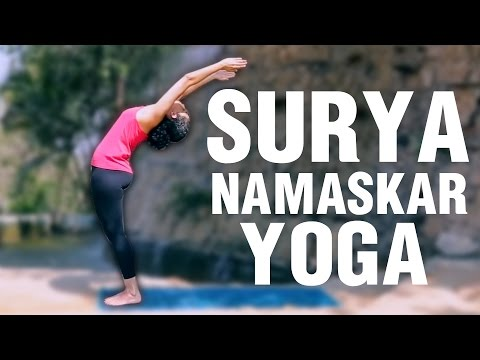 How To Do SURYA NAMASKAR Yoga Step By Step At Home