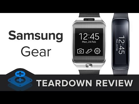 The Samsung Gear Teardown Review (Gear 2 and Gear Fit!)
