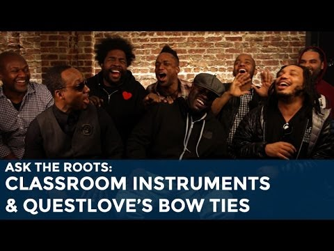 Ask The Roots: Classroom Instruments And Questlove's Bow Ties video
