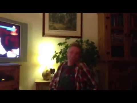 Grandpa Dancing Gay To Man I Feel Like A Woman!! :d video