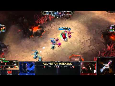 All-Star Top Lane 1v1 tournament - Soaz (Darius) vs Shy (Varus)  - Finals