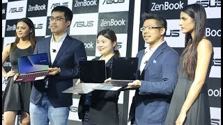 Asus New Zenbook Series Compact Laptop Launch Event in Delhi | DASTAK INDIA