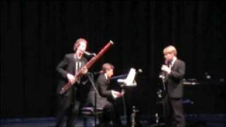 Sixth Floor Trio: Brahms Clarinet Trio, First Movement