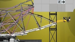 Using a Theoretical Degree in Physics to play Portal Bridge Constructor