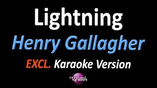 Lightning Karaoke Version Henry Gallagher