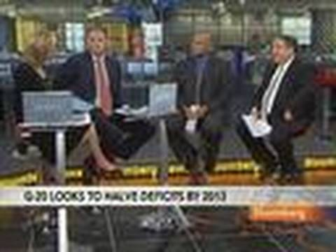 Galante Sees Slow Growth Hindering G-20 Deficit Goals: Video