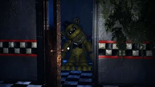 Golden Freddy OPENED The Kitchen Door And Came Out.. || FNAF Back In The 80's
