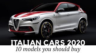 Top 10 New Italian Cars Ranging from Sporty SUVs to Luxury Supercars