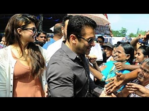 Caught: Salman Khan & Jacqueline Fernandez In Srilanka