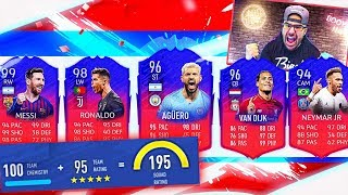 OMFG RIP THE BEST 195 DRAFT EVER! *NOT CLICKBAIT* FIFA 19 Ultimate Team