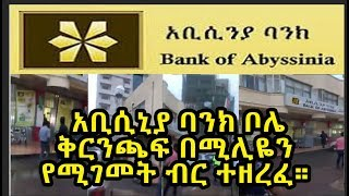 Ethiopia: bank robbery at Abyssinia Bank Bole Branch located next to Edna mall