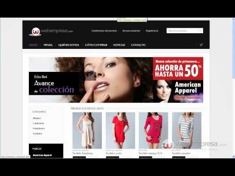 Pack Tienda Webempresa (paso 1): Cambio de logo y personalización colores (plantilla Boutique)