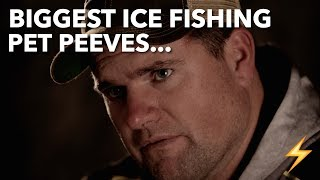Our BIGGEST Ice Fishing Pet Peeves — Ice Pros Q&A ⚡