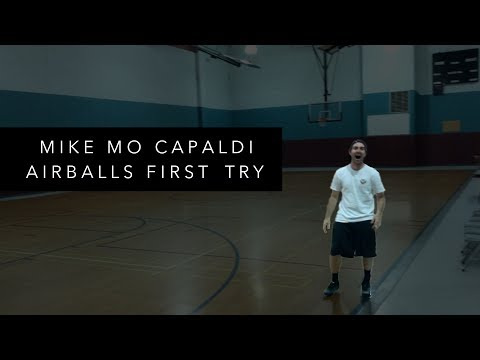 Mike Mo Capaldi Airballs First Try