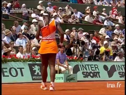 Serena Williams vs Barbara Schett 2003 RG R3 Last 3 Games