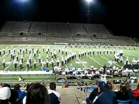 Plano East Marching Band 2009 - UIL Competition Video