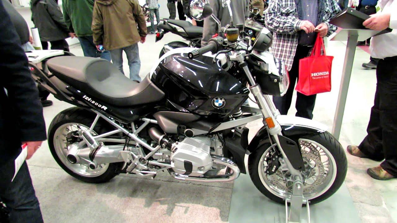 2012 bmw r1200r at 2012 montreal motorcycle show salon - Salon de moto montreal ...