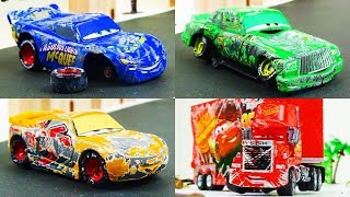 Disney Cars Toys Crash Omnibus Vol.2  Video for Kids