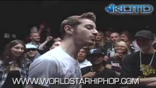 KOTD - Rap Battle - Kid Twist vs Hollohan (Title Match)